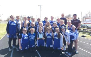 junior high track team championship
