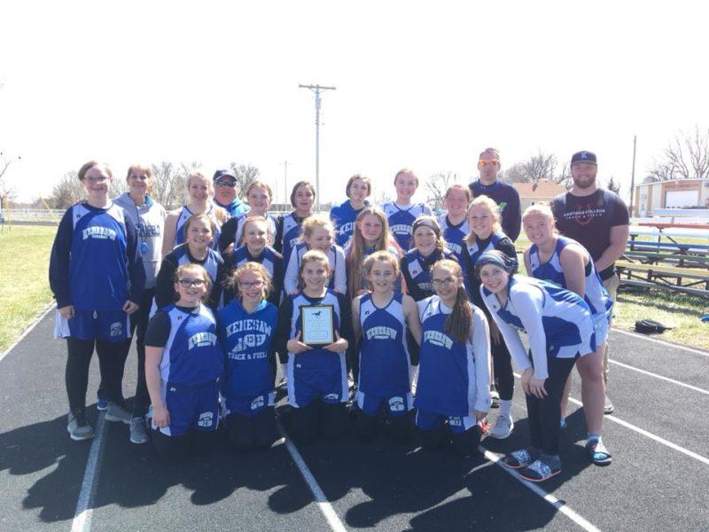 junior high track team championship