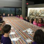 second graders learning about fossils