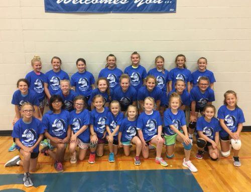 Girls Volleyball Camp a Success