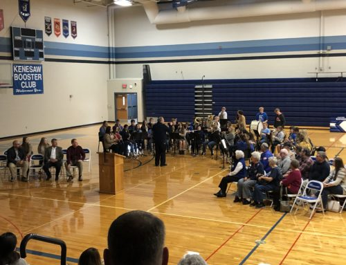 Veteran's Day Celebrated at Kenesaw