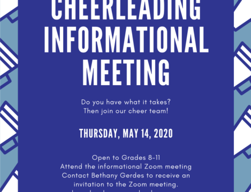 Cheerleading Informational Meeting