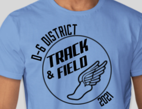 District Track T-Shirt Order Forms
